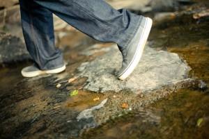 Füße laufen